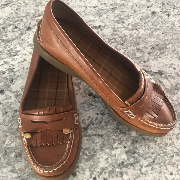 Sperry Shoes - Sperry Leather Moccasin Loafer